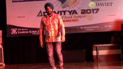 THE ANNUAL TECH FEST aDAVitya- 17 AT DAVIET held March 8