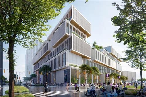 NYU Shanghai breaks ground for its second campus - SHINE News
