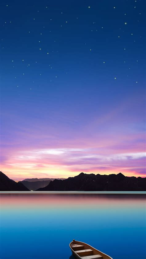 Wonderful Lake Night wallpapers for mobile samsung