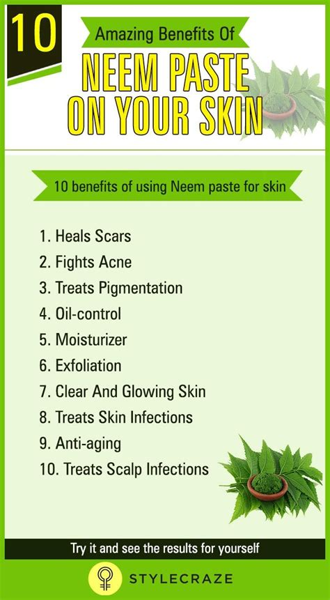 10 Amazing Benefits Of Neem Paste On Your Skin in 2020