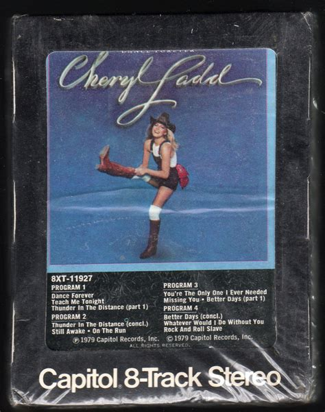 Cheryl Ladd - Dance Forever 1979 CAPITOL Sealed A17A 8