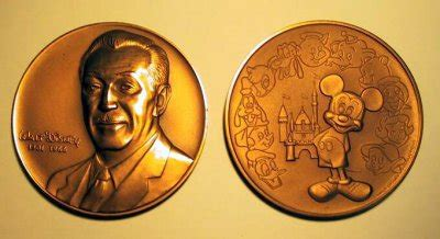Walt Disney commemorative medallion from our Other