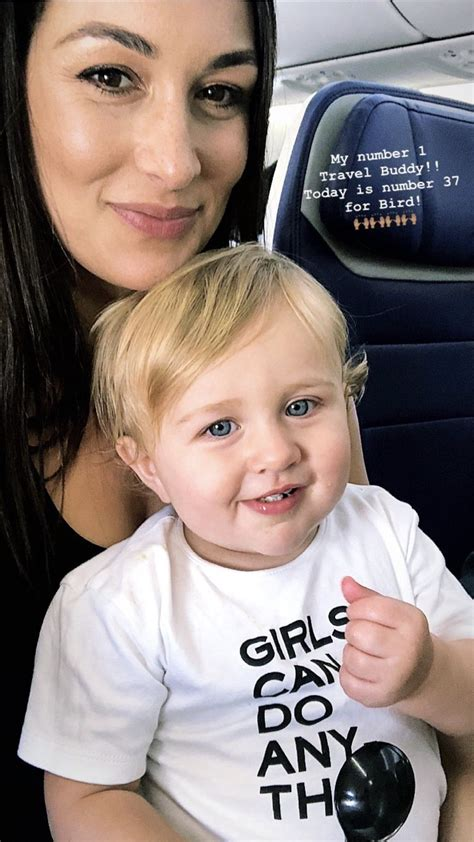 Birdie Joe Danielson & Mommy Brie Bella | John cena and
