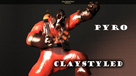 Clay-Styled Pyro [Team Fortress 2] [Skin Mods]