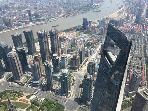 A Look At The Shanghai Tower, The Newest And Tallest