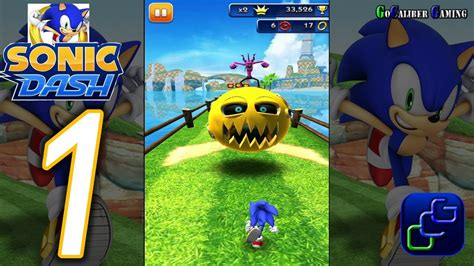 Sonic Dash Android Walkthrough - Gameplay Part 1 - Lost