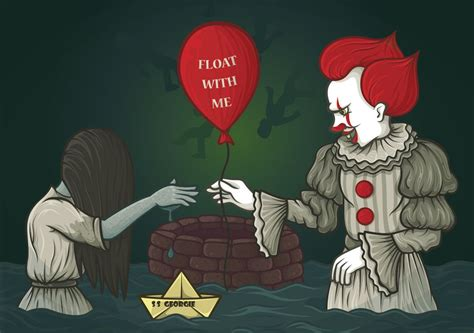 Float with me, Samara! | Stephen King: Pennywise ekkor: 2019