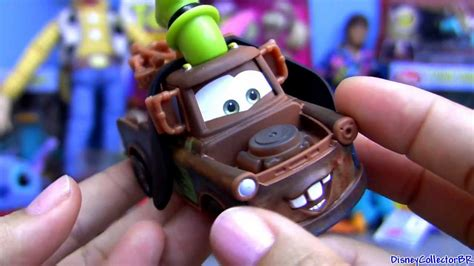 Cars 2 Goofy Mater AND Mickey Lightning Mcqueen