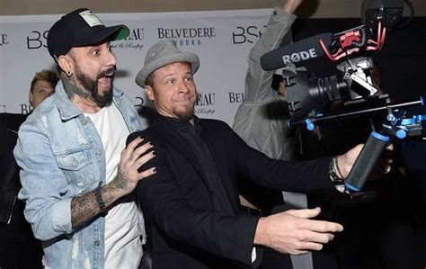 The Backstreet Boys Host After-Party at Chateau Nightclub