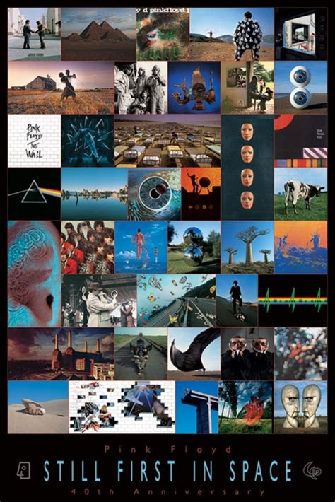 Pink Floyd posters - Pink Floyd 40th Anniverary poster