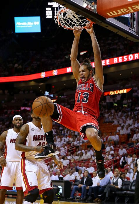 Joakim Noah in Chicago Bulls v Miami Heat - Zimbio
