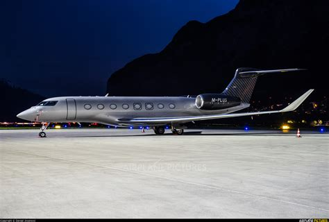 M-PLUS - Private Gulfstream Aerospace G650, G650ER at